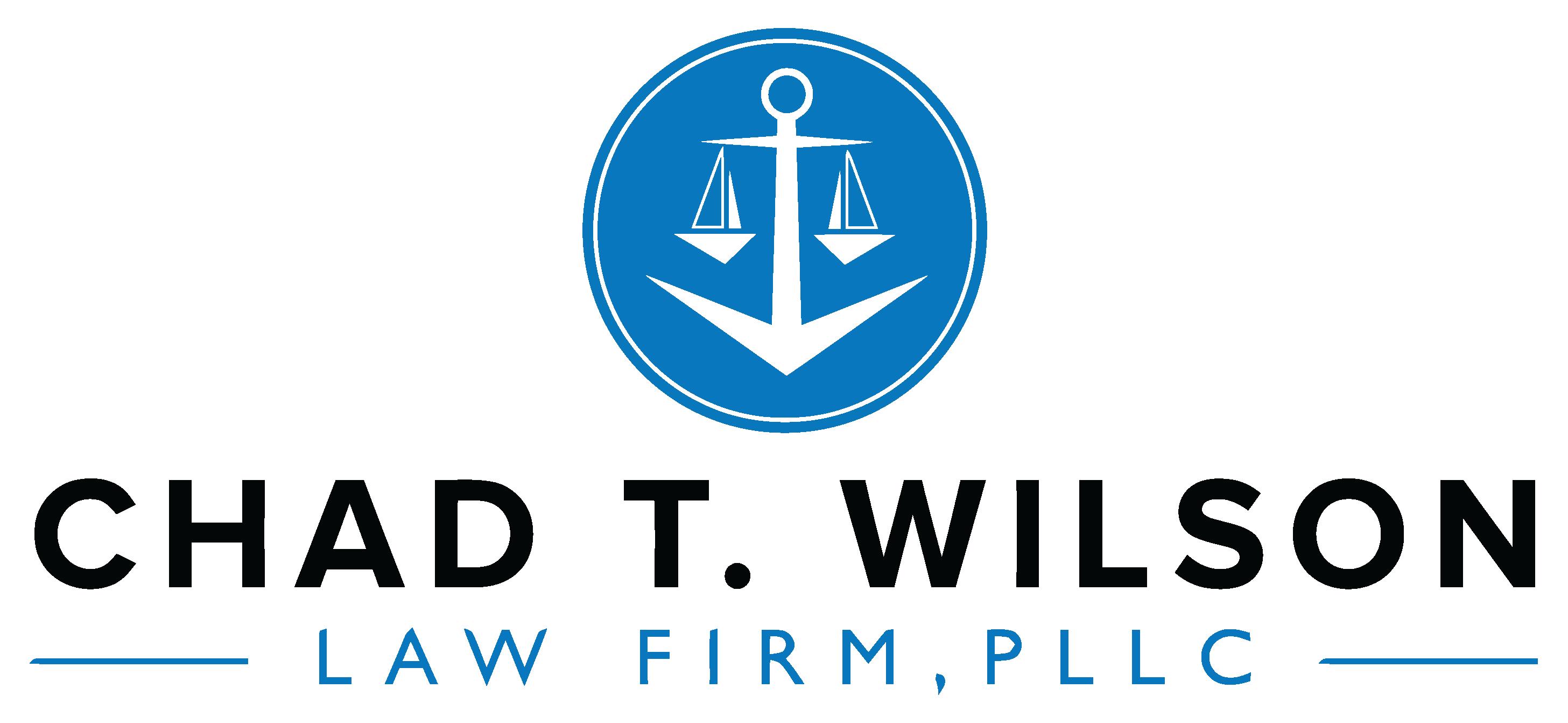 Chad T. Wilson Law Firm Logo